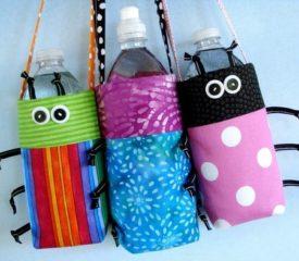 My reusable water bottle puppet show