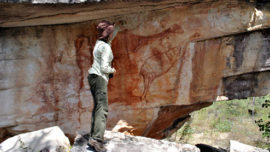 Bird rock art could be world's oldest...