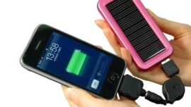 Months after Sandy, solar chargers for mobile...