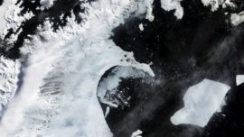 Chain reaction shattered huge Antarctica ice ...