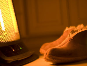 Switch off the heater, you won't need it. IceSabre/Flickr