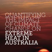 Quantifying the impact of climate change on extreme heat in australia