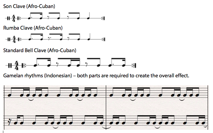 Studentworksheet rhythm