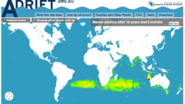 Tracking Litter in the World's Oceans...