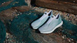 These Sneakers Are Made Entirely From Ocean P...