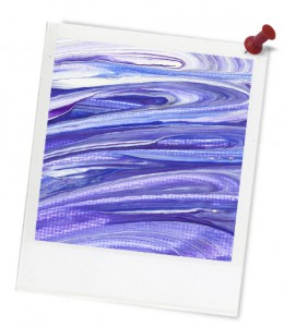 art-purple-photoframe