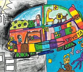Toyota Dream Car Art Contest – A Dream Car For A Dream Job – Years 5 & 6