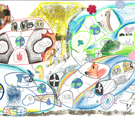 Toyota Dream Car Art Contest – One Dream Car In The Style Of Another – Years 7 & 8