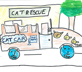 Toyota Dream Car Art Contest – Illustrating A Short Story For Our Environment – Years 3 & 4