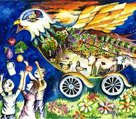 Toyota Dream Car Art Contest – Dream Car With A Message – Years 9 & 10